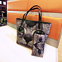 YC Womens Fashion Causal Pattern Tote 2Pcs Set YC-N135