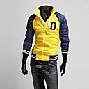 collar de moda soporte carta informal chaqueta de punto de impresión sudaderas de alta calidad de lesen hombres o