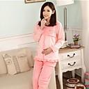 alimentación de algodón sencillos de tejer embarazadas mujeres trajes de las mujeres