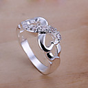 Vilin Womens Double Heart   Ring