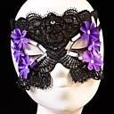 cristal de la vendimia de flores danza de máscaras de encaje