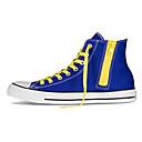 converse azul ocio zapatos unisex de lona deportes oscuros