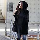 chaleco con capucha sin mangas para las mujeres (más colores)