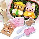 6pcs animales bricolaje modelos de herramientas molde fingen jugar juguetes educativos