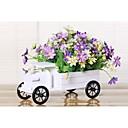 25 cm con estilo europeo de colección kit de madera sólida flores de crisantemo color del coche