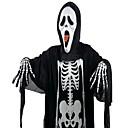 120cm de halloween paño fantasma travesuras con máscara y set de uñas