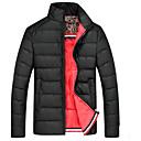 algodón coreano chaqueta engrosamiento de lana de los hombres senleisi
