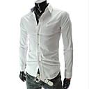 camisa de manga larga del bodycon moda masculina zj.sm