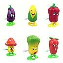 6pcs juguetes de cuerda vegetales (color al azar)