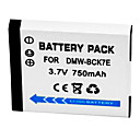 750mAh Digital Camera Battery DMW-BCK7E for Panasonic FX78 FH2 FH5 FP5 FP7 S1 S3 FH25