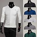 fxfs fishion básica de los hombres camisa cabida m33 informal