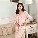 algodón de la historieta impresión jersey traje de manga larga chaqueta de las mujeres embarazadas