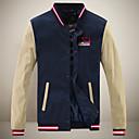 cálida coat_23 manga larga de los hombres casuales SMR