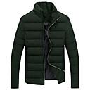 KissTiesMens Warm Custom Fit Thick Zipper Padded Coat