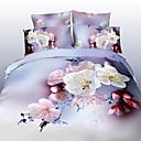 maison 14d ropa de cama de la impresión floral de cuatro piezas con pulsera de perlas gratis