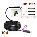 10M 720P Mini USB IP67 Waterproof 7mm Lens Endoscope Borescope Snake Inspection Camera with LED Light