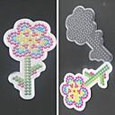 1pcs plantilla patrón claro de girasol tablero de Hama Beads 5mm Perler Granos GRANOS fusibles