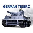 Heng Long 1/16 German Tiger I RC pesado tanque de batalla con simulado Humo