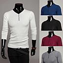 fxfs fishion básica de los hombres camisa cabida m32 informal