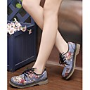 Image For ZICQFURL Women's Vintage Joint Leisure Thin Shoes