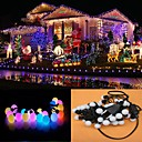 10M 100LED RGB Light LED Ball Shaped Christmas Light Decoration String Light (220V)