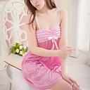 Xiaolu Womens Lace Stripe Lingerie Suit