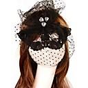 cristal de la moda del modelo del corazón máscara de partido del cordón