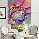 abstracto estatua estilo de pintura al óleo de la libertad persiana retrato