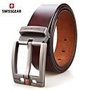 auténtica moda pin informal hebilla del cinturón de los hombres swissgear