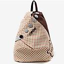 Womens Korean Dot Academy Shoulders Bag Backpack