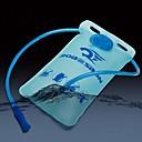 2l ciclismo TPU azul saco bicicleta / bicicleta de agua potable al aire libre deporte bolsa / plegable