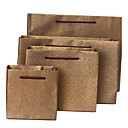 bolsas de regalo de café hechas de papel especial