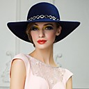 elegant-wool-ladies-casusal-outdoor-hat-with-chain-wide-brim