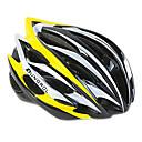 ungrol 24 respiraderos eps  pc amarillo  negro  blanco integralmente moldeada super ligero casco en bicicleta (56-64cm)