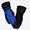 a prueba de viento calientes guantes de esquí de los hombres