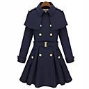Beier capa de color sólido chaqueta de punto de manga larga de las mujeres