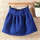 a cuadros invierno pu cintura de cuero plisado falda del soplo de las mujeres (más colores)