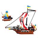 226pcs lego ladrillos de plástico bloque de construcción naval caribe pirata juguetes