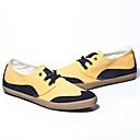 zapatos de contraste coreano de los hombres causales de lona de color ZK 1321450