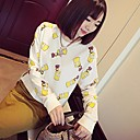 Zian Womens Pullover Lovely Vented Thicken TShirt