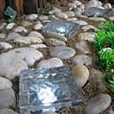 Solar Eis Backsteinkubus Wegeleuchte Kristall Gartenlampe