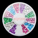 New 3D Metal Nail Art  Nail Rhinestone Jewelry Nail Art Decorations Wheels Nail Sticker Nail Beauty