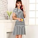 alto grado delantal raya cocinar la moda con el bolsillo, lienzo 31,5 '' × 24.4 ''