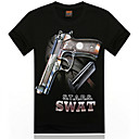 kamp;de los hombres r 10d impresa camiseta informal