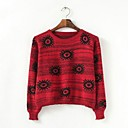 Womens Floral Print Cotton Pullover (More Colors)