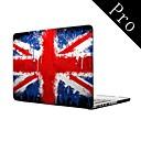 """agua colorido diseño de la bandera del Reino Unido de cuerpo completo caja de plástico protectora para el MacBook Pro de 13 """"/ 15"""" (no retina)"""