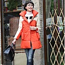 Womens Korean Casual Loose Thick Cotton Coat
