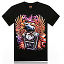 kamp;de los hombres r 17d impresa camiseta informal