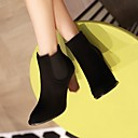 Womens Shoes Pointed Toe Chunky Heel Ankle Boots More Colors available