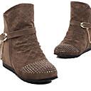 cinturón botas del tobillo del talón de las mujeres Loubo